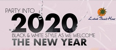 New Year's 2020 New Year Black & White Dinner Party